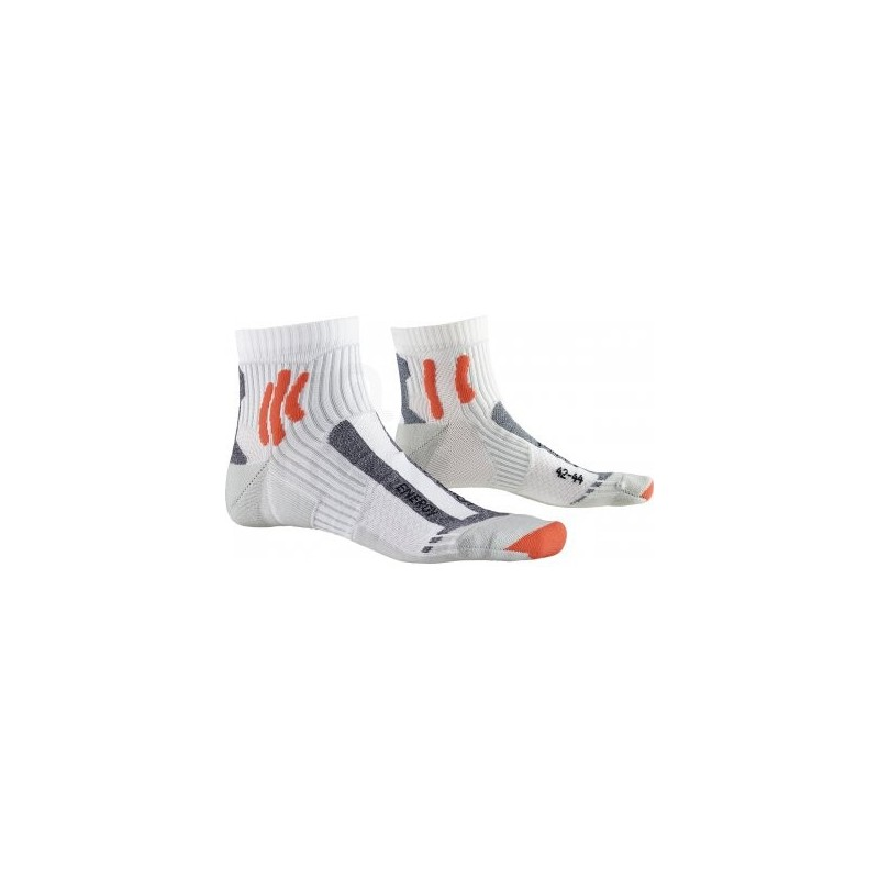 Chaussettes X-SOCKS Running Marathon Energy blanches