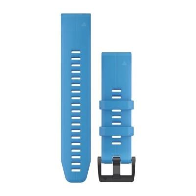 Bracelet GARMIN QuickFit® - 22mm Silicone bleu cyan