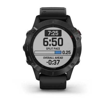 Montre GPS GARMIN Fenix 6 Sapphire noire
