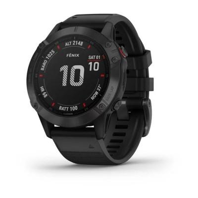 Montre GPS GARMIN Fenix 6 Pro noire