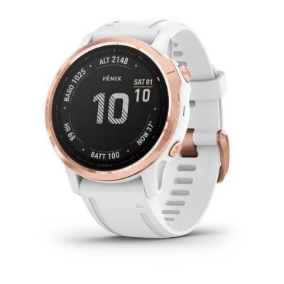 Montre GPS GARMIN Fenix 6S Pro rose/blanc