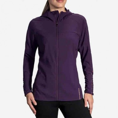 Veste BROOKS Canopy Jacket Femme berry/rose gold