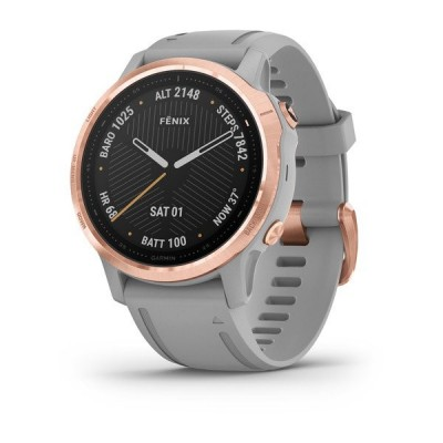 Montre GPS GARMIN Fenix 6S Sapphire rose gold/gray band