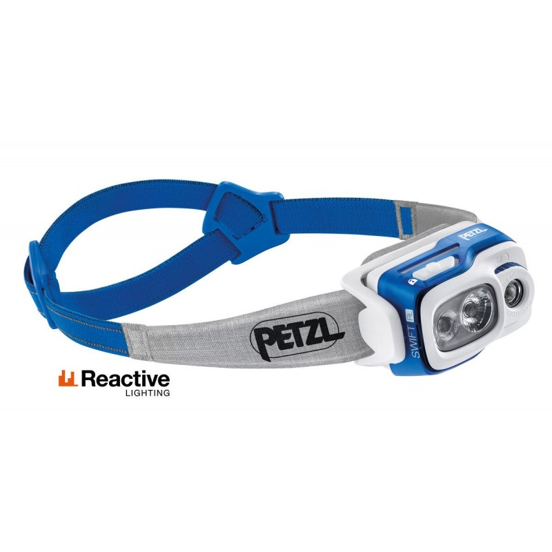 Lampe Frontale PETZL SWIFT RL bleue