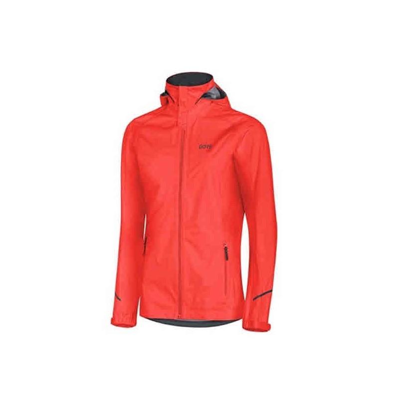 Veste GORE R3 Gore-Tex Active Femme lumi orange