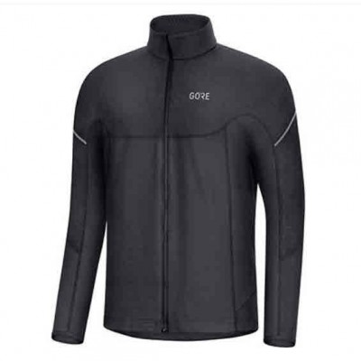 Veste GORE Thermo LS Zip Shirt Homme black