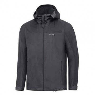 Veste GORE R3 Gore-Tex Active Hooded Homme terra grey/black