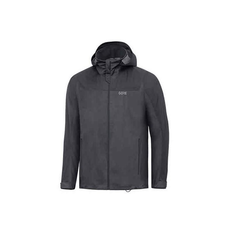 Veste GORE R3 Gore-Tex Active Hooded Homme terra grey/black