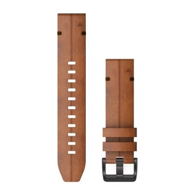 Bracelet GARMIN Quickfit 26mm chestnut leather