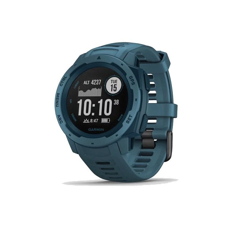 Montre GPS GARMIN INSTINCT bleu lac
