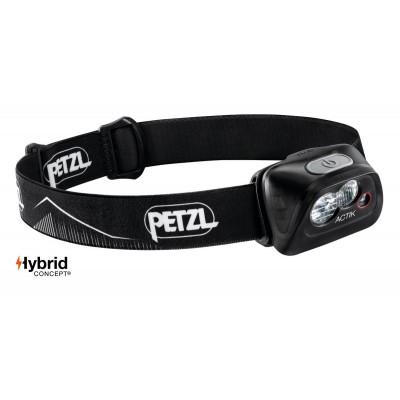 Lampe Frontale PETZL ACTIK 350 noir