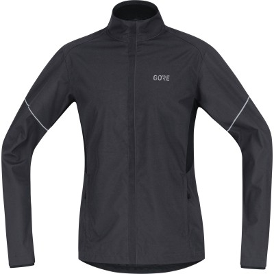 Veste GORE R3 Partial Windstopper Jacket Homme black/grey