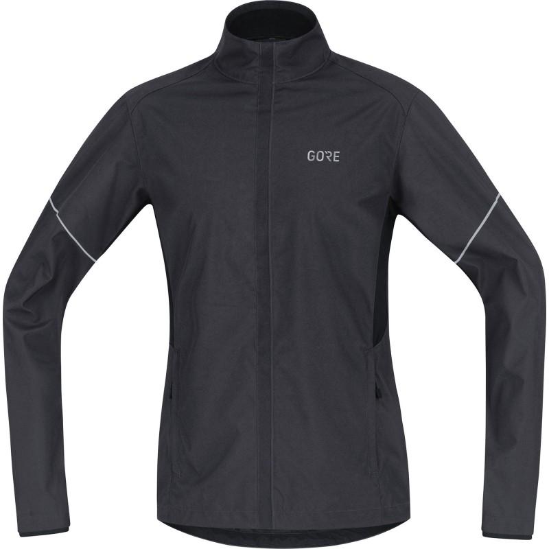 Veste GORE R3 Partial Windstopper Jacket Homme black/grey