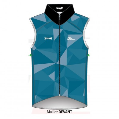 Gilet coupe-vent sans manche TEAM OUTDOORMixte