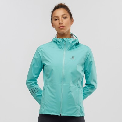 Veste SALOMON Lightning WP JKT Femme meadowbrook