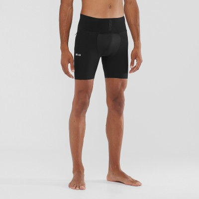 Cuissard SALOMON S/LAB Support Half Tight Homme noir
