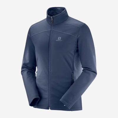 Veste SALOMON Discovery LT FZ Homme night sky