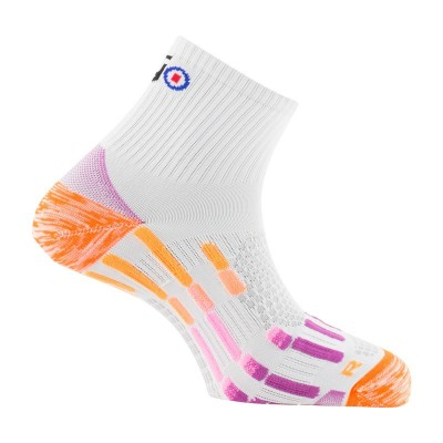 Chaussettes THYO Run Pody Air Silver blanc/violet