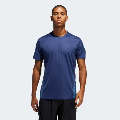 Tee-Shirt ADIDAS 25/7 Rise Up N Run Parley prime blue