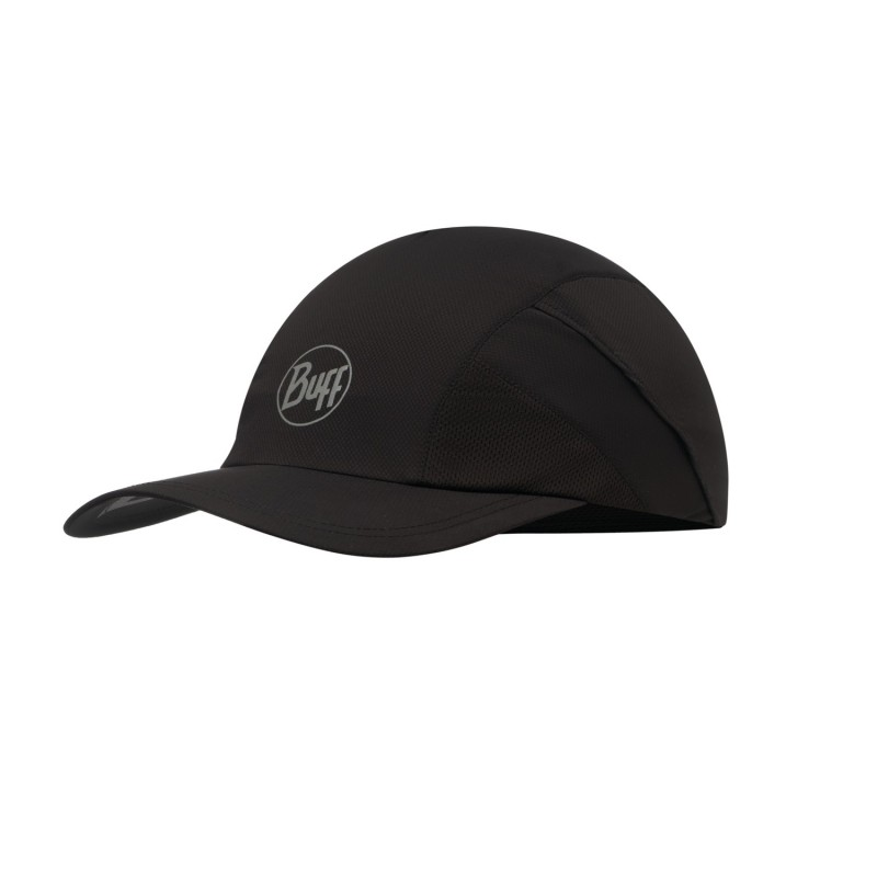 Casquette BUFF Pro Run Cap R-solid black