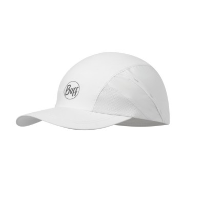 Casquette BUFF Pro Run Cap R-solid white