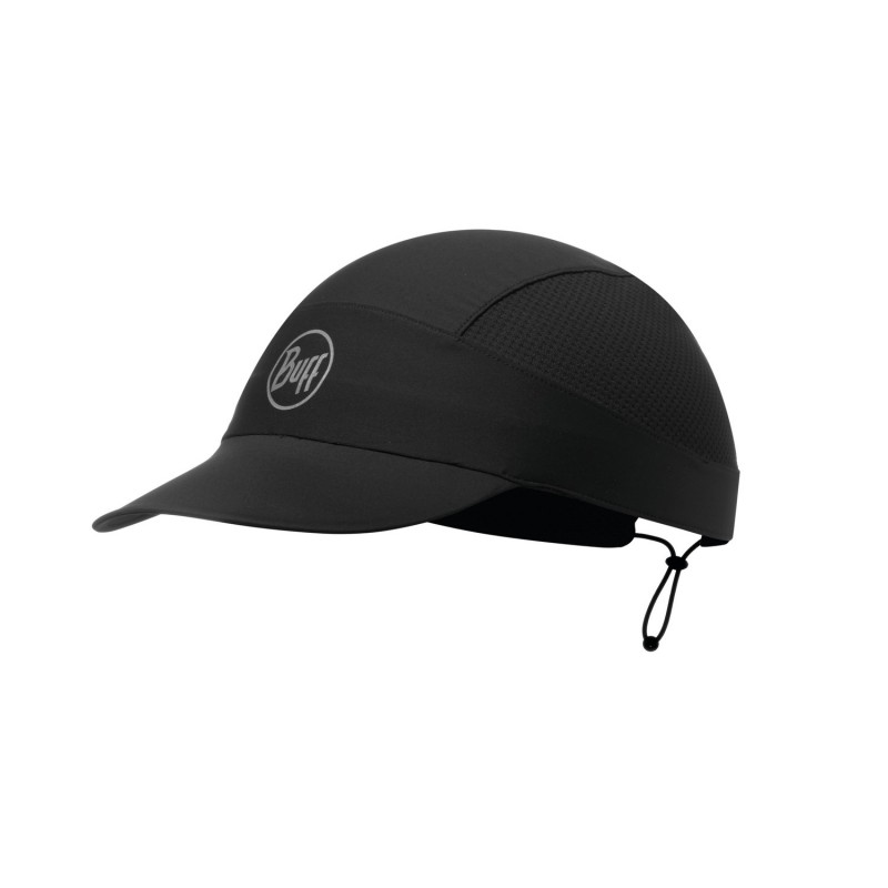 Casquette BUFF Pack Run Cap R-solid black
