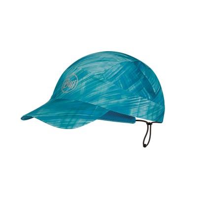 Casquette BUFF Pack Run Cap R-magik turquoise