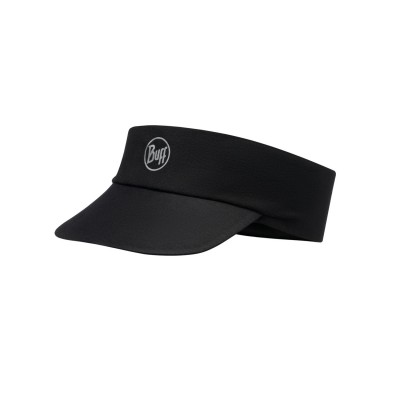 Visière BUFF Pack Run Visor R-solid black