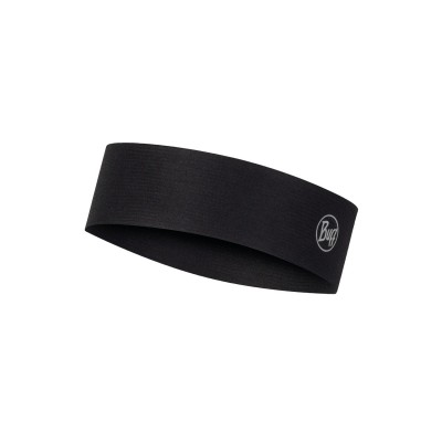 Bandeau BUFF Coolnet UV+ Slim Headband r-solid black