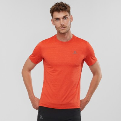 Tee-Shirt SALOMON T Shirt XA TEE Homme valiant poppy