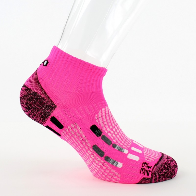 Chaussettes THYO PODY AIR RUN roses