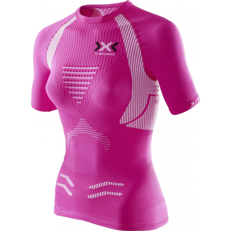 X-BIONIC Tee Shirt The Trick Femme rose