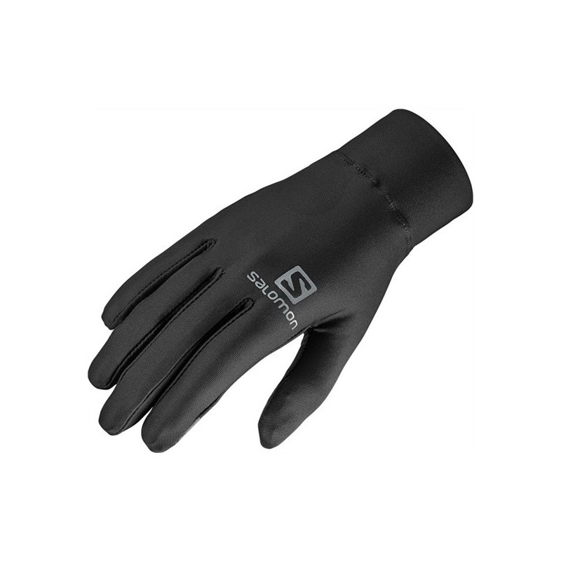 Gants SALOMON Agile Warm Gloves tactiles noirs
