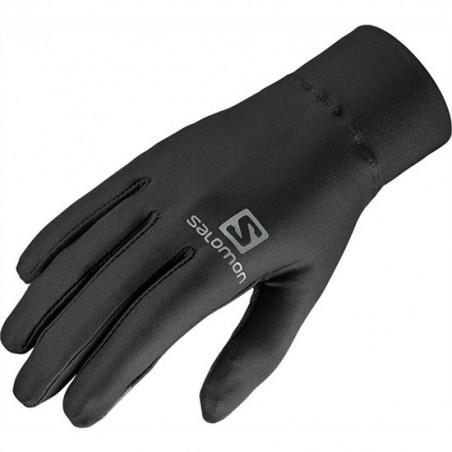 Gants SALOMON Agile Warm Gloves tactiles noirs
