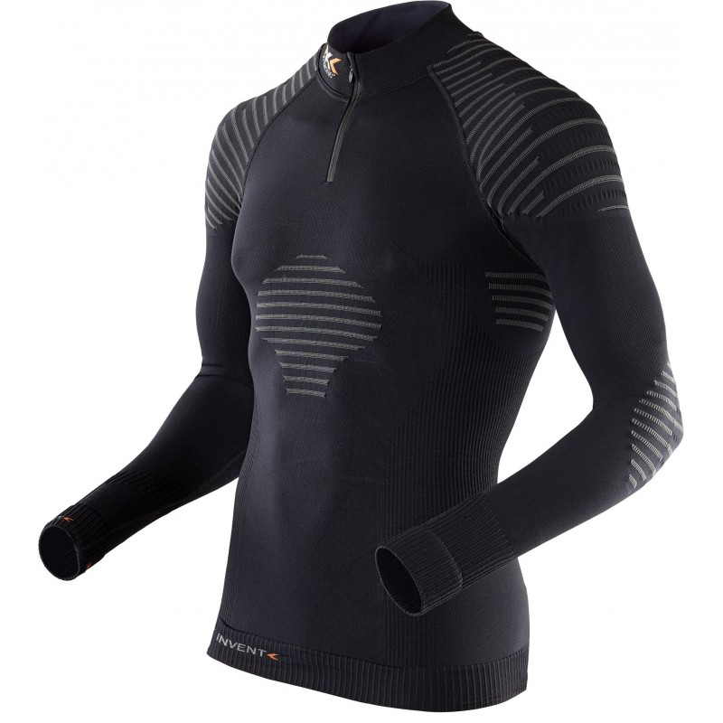 Maillot manches longues X-BIONIC INVENT 1/2 zip Homme
