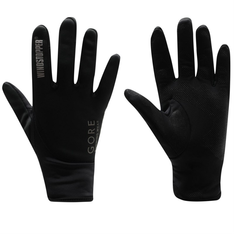 Gants GORE Essential Windstopper noirs