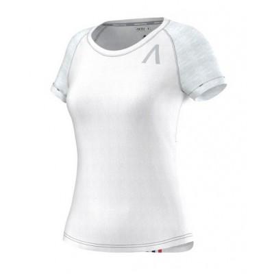 Tee-shirt ADIDAS manches courtes AKTIV Femme blanc