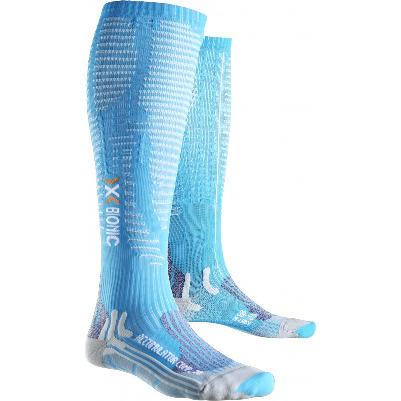 Chaussettes compression X-BIONIC ACCUMULATOR COMPETITION Femme