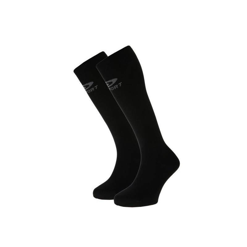 Chaussettes compression BV SPORT CONFORT noires