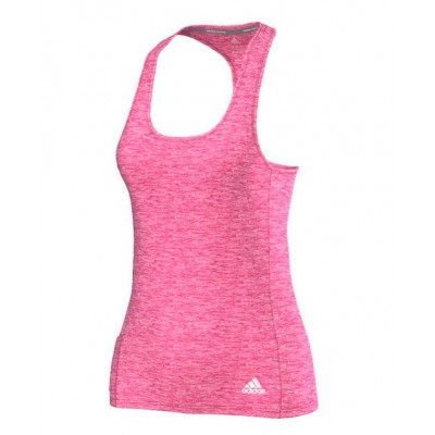 Debardeur Adidas Supernova Fitted tank femme rose chine