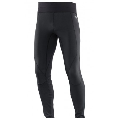 Collant SALOMON Trail WINDSTOPPER homme noir