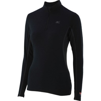 Maillot Breath thermo Virtual Body 1/2 zip femme noir