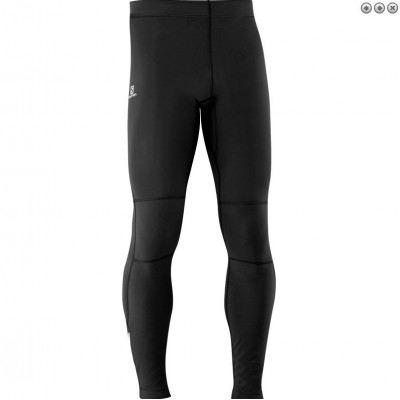 Collant Salomon Warm Tight homme noir