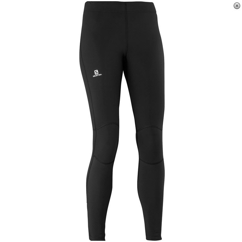 Collant Salomon Warm Tight femme noir