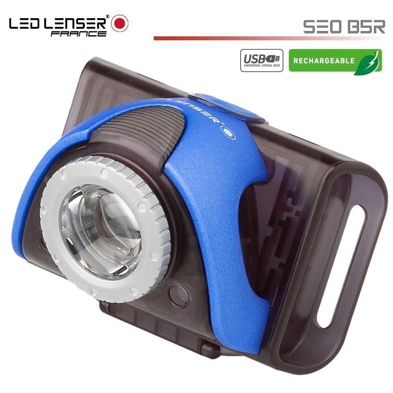 Lampe Vélo avant LED LENSER B5R rechargeable
