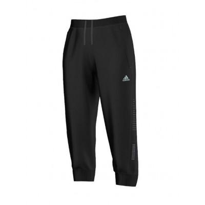 Pantalon ADIDAS 3/4 RUN PANT Femme noir