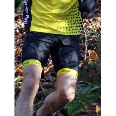 Short cuissard Trail CAIRN Team Outdoor Poli mixte