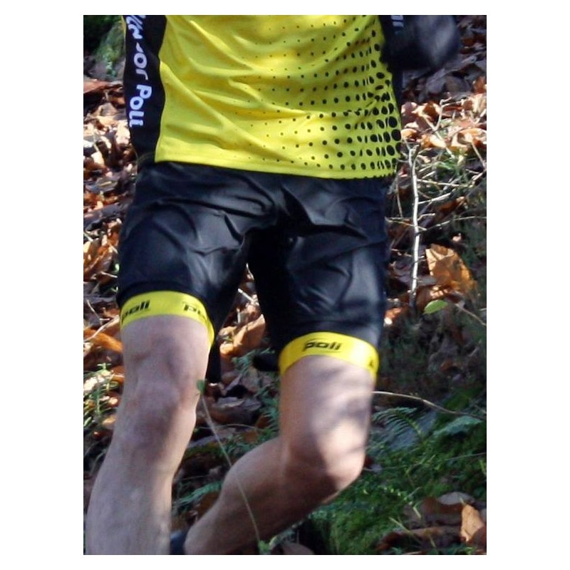 Short cuissard Trail CAIRN Team Outdoor Poli mixte