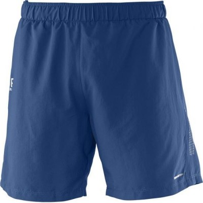 Short SALOMON PARK 2 in1 SHORT homme Midnight Blue