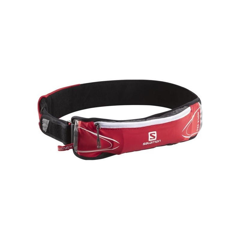 Ceinture SALOMON agile 250 belt set rouge avec flask